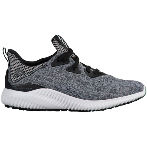 adidas Alphabounce - Boys' Grade School - Grey / White