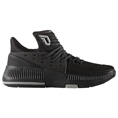 adidas Dame 3 - Men's -  Damian Lillard - All Black / Black