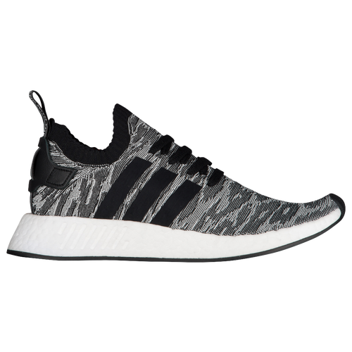 5fe54d944 adidas Originals NMD R2 Primeknit - Men s - Running - Shoes -  Black Black White