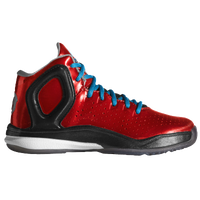 adidas D Rose 5 - Boys' Preschool -  Derrick Rose - Red / Light Blue