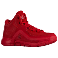 adidas J Wall 2 - Boys' Grade School -  John Wall - Red / Red