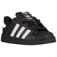 adidas Originals Superstar - Boys' Toddler - Black / White