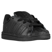 adidas Originals Superstar - Boys' Toddler - All Black / Black