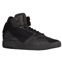 adidas Originals Crestwood Mid - Boys' Grade School - All Black / Black