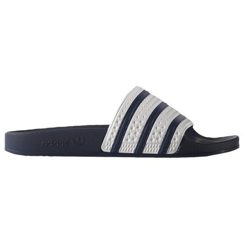 adidas Originals Adilette - Men's - Navy / White