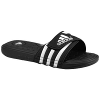 adidas Adissage SuperCloud Slide - Men's - Black / White