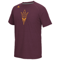adidas College Climalite T-Shirt - Men's - Maroon / Gold