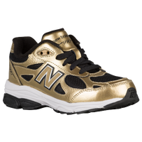 New Balance 990 - Boys' Grade School - Gold / Black