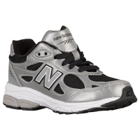 New Balance 990 - Boys' Grade School - Silver / Black