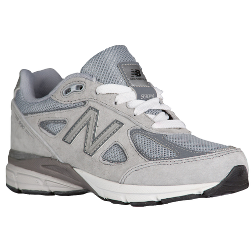 New Balance 990 - Boys\u0026#39; Grade School - Grey / White