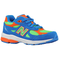 New Balance 990 - Boys' Grade School - Light Blue / Light Green