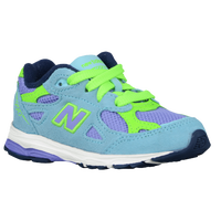 New Balance 990 - Girls' Toddler - Light Blue / Purple
