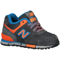 New Balance 574 - Boys' Toddler - Grey / Light Blue