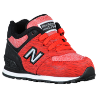 New Balance 574 - Boys' Toddler - Red / Black