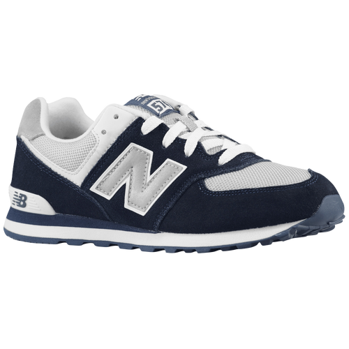dark blue new balance 574 boys kids shoes