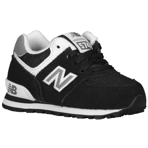 New Balance 574 - Boys\u0026#39; Toddler - Black / White