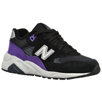 New Balance 580 - Boys' Grade School - Black / Purple