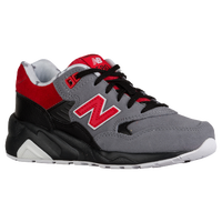 New Balance 580 - Boys' Grade School - Grey / Red