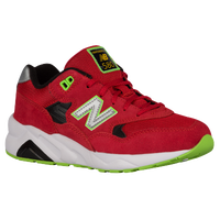 New Balance 580 - Boys' Grade School - Red / White