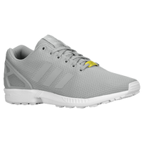 adidas Originals ZX Flux - Men's - Grey / White