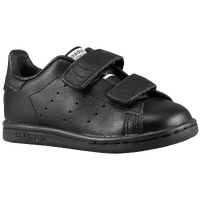 adidas Originals Stan Smith - Boys' Toddler - All Black / Black