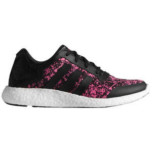 adidas Pure Boost - Women's - Black/Solar Pink