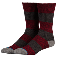 Stance Croger Crew Socks - Men's - Red / Grey