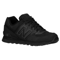 New Balance 574 - Men's - All Black / Black