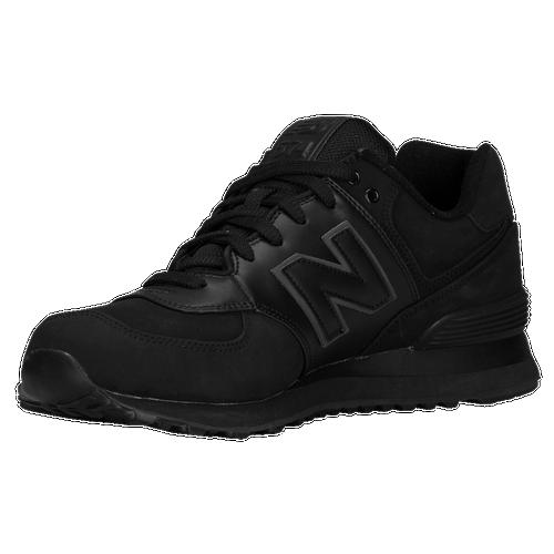 all black new balance 574