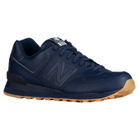 New Balance 574 - Men's - Navy / Tan