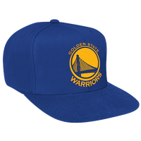 Mitchell & Ness NBA Solid Snapback - Men's - Golden State Warriors - Blue / Gold