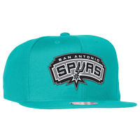 Mitchell & Ness NBA Solid Snapback - Men's - San Antonio Spurs - Aqua / Grey