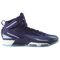 adidas D Rose 6 - Men's -  Derrick Rose - Purple / Light Blue