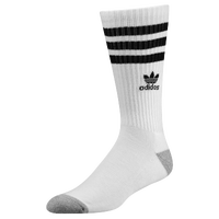 adidas Originals Roller Crew Socks - Men's - White / Black