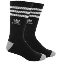 adidas Originals Roller Crew Socks - Men's - Black / Grey