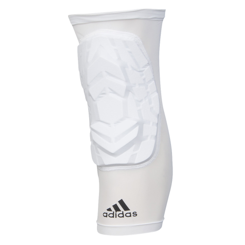 adidas Techfit Padded Knee Sleeve - Men's - White / Black