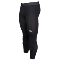 adidas Padded 3/4 Tights - Men's - Black / Black