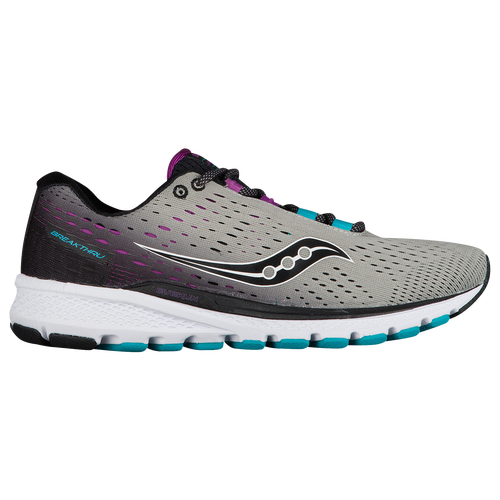 Saucony Breakthru 3 - Women's - Grey / Purple