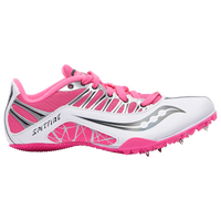 Saucony Spitfire - Women's - White / Pink