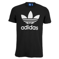 adidas Originals Trefoil T-Shirt - Men's - Black / White