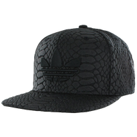 adidas Originals Originals Puff Snapback - Men's - All Black / Black