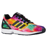 adidas Originals ZX Flux - Boys' Grade School - Black / Multicolor