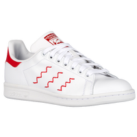adidas Originals Stan Smith - Women's - White / Red