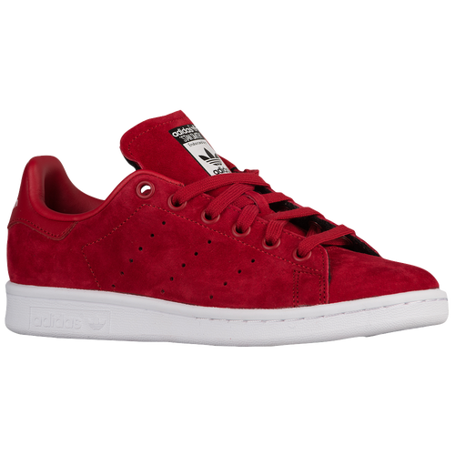 adidas stan smith women red