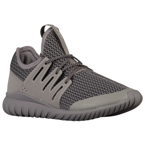 Adidas Tubular Radial All Black On Feet