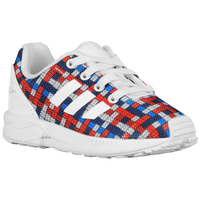 adidas Originals ZX Flux - Boys' Toddler - White / Blue