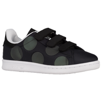 adidas Originals Stan Smith - Boys' Preschool - Black / White