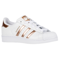adidas Originals Superstar - Women's - White / Gold