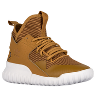 adidas Originals Tubular X Winterized - Boys' Grade School - Brown / White