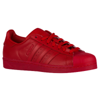 red adidas superstars